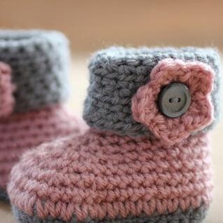 Sapatinho de Crochê para Bebê Star - Crochê Passo a Passo