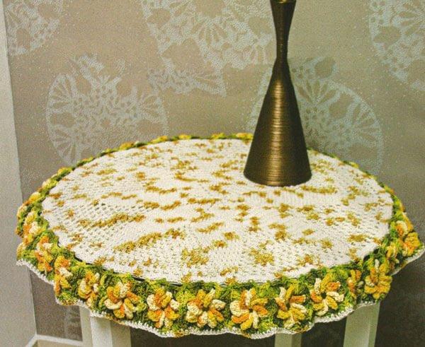 Receita Toalha de Mesa Cereale em Crochê