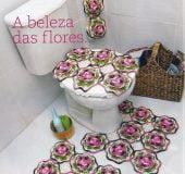 Receita Jogo de Banheiro Naturelle em Crochê